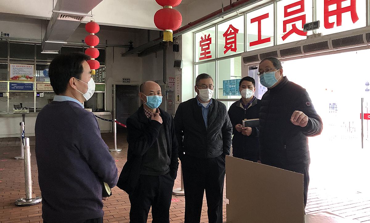硬核防疫丨竞博app集团严防严控 确保有序复工复产